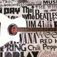 Gitar Akustik Elektrik Yamaha Apx500 White