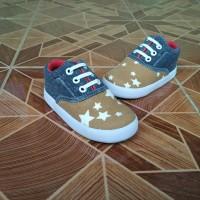 Sepatu Anak Laki-Laki Murah Trendy Casual Stylist Abu Bintang