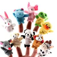Mainan Boneka Jari Tangan Binatang Import Murmer ECER