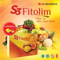 [ ECER PER SACHET ] S3 FITOSLIM / fiber to slim original / slimming