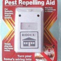 [ Merah ] RED RIDDEX PEST REPELLING AID / pengusir nyamuk kecoak