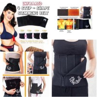 KORSET PERUT 4STEP / 4 Step shape slimming belly belt