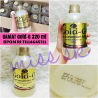 [ 320 ml ] GAMAT GOLD G 320 ml BPOM ORIGINAL ( sea cucumber Gold-g )