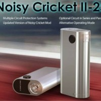 Paket ngebul vapor mod Wismec noisy cricket II + RDA #evic/dagger/rta