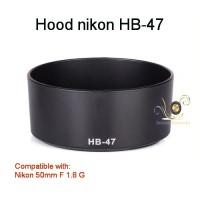 Hood Nikon HB-47 for Nikon 50mm F 1.8 G