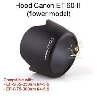 Hood Canon ET-60 II (Flower) for EF-S 55-250mm f/4-5.6