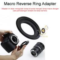 Macro Reverse Ring for Nikon 58mm