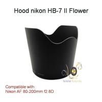 Lens Hood HB-7 Flower Model for Nikon AF 80-200mm f2.8D