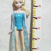 Boneka Barbie Elsa Frozen Original Disney Bisa Nyanyi Let It Go