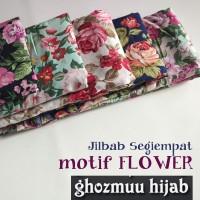 JILBAB SEGIEMPAT ROSE UMAMA (Khimar-Pashmina-Ciput-Hijab Instan)