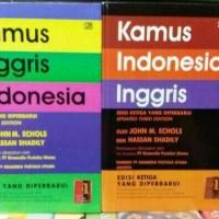 KAMUS INGGRIS - INDONESIA ( JHON M ECHOLS dan HASAN SHADILY )