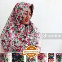 JILBAB SEGIEMPAT ROSE UMAMA 2 (Khimar-Pashmina-Ciput-Hijab Instan)