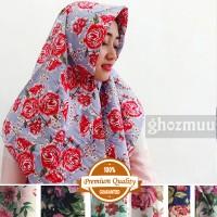 JILBAB SEGIEMPAT ROSE UMAMA 1 (Khimar-Pashmina-Ciput-Hijab Instan)