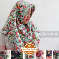 JILBAB SEGIEMPAT ROSE UMAMA 5 (Khimar-Pashmina-Ciput-Hijab Instan)