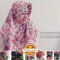 JILBAB SEGIEMPAT ROSE UMAMA 4 (Khimar-Pashmina-Ciput-Hijab Instan)