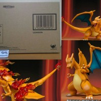 SHF Charizard Lizardon Rizadon Pokemon Sun Moon Nintendo 3DS Bandai