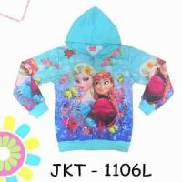Jaket Jeket Fashion Anak Cewek Perempuan Karakter Frozen Big Size