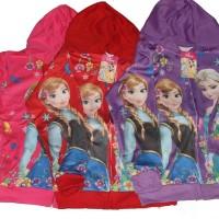 Jaket Jeket Fashion Anak Cewek Perempuan Frozen Import uk. Besar