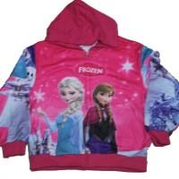 Jaket Jeket Fashion Anak Cewek Perempuan Hoodie Elsa Anna Frozen