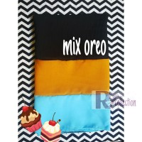 Hijab Jilbab Pashmina Ice Cream Mix Oreo