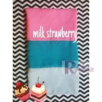 HIjab Jilbab Pashmina Ice Cream Milk Strawberry