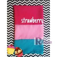 Hijab Jilbab Pashmina Ice Cream Strawberry