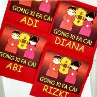Gratis Nama Kaos Baju Family Imlek/Boneka Cina/Gong Xi Fa Cai
