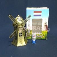 Pajangan Miniatur Figure Kincir Angin Wind Holland Belanda Netherlan