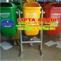 Tempat Sampah Fiberglass oval B3