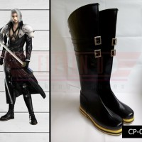 Sepatu Cosplay Final Fantasy Sephiroth