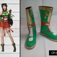 Sepatu Cosplay Dynasty Warrior Guan Yinping