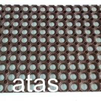 Karpet Karet Bolong Anti Slip (38 x 58 cm) Baru | Peralatan Rumah