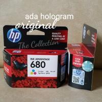 SEALED COLOR Tinta HP 680 Printer Original Ink Deskjet 111 2135 3635