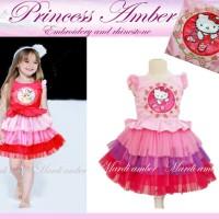 Baju Anak - Amber Princess Hello Kitty Pink (GI-723)