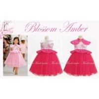 Baju Anak - Amber Blossom Dress (GI-720)