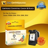 Cartridge Canon PG88 PG 88 PG-88 Black Catridge E500 E510 E600 E610