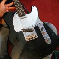Gitar squier telecaster black chroom