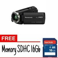 PANASONIC HANDYCAM HC-V180 FREE MEMORY 16GB