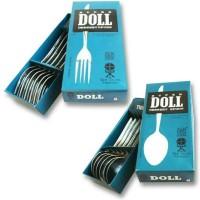 Sendok/Garpu makan super Doll stainles /6pcs