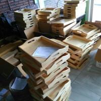Nampan / Baki / Tray Kayu Pinus 40 x 30