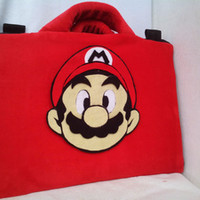 "Mario Bros Merah 13-14"" softcase/tas laptop,netbook,notebook lucu"