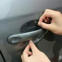 Stiker import pelindung Handle Pintu sticker Gagang Mobil anti gores