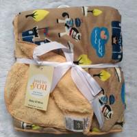 Selimut carters double fleece / selimut bayi carters