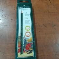 Pensil kayu 2B Faber Castle