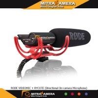 RODE VIDEOMIC + RYCOTE (Directional On-camera Microphone)