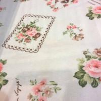 kain gorden gordin gordyn curtain bunga floral shabby chic 2,8m A11