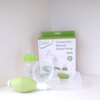BREAST PUMP MANUAL CLAIRES l POMPA ASI MANUAL + BOTOL CLAIRE'S