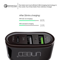UNEED SMART TRAVEL CHARGER Usb. 3.0