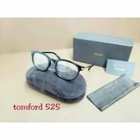 Paket Kacamata TOMFORD 525 + Lensa Minus Antiradiasi