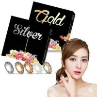 softlens x2 ice gold silver normal minus grosir ecer